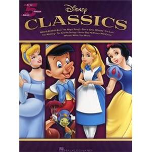 DISNEY - 5 FINGER PIANO: DISNEY CLASSICS