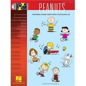 GUARALDI VINCE - PIANO DUET PLAY ALONG VOL.21 PEANUTS + CD