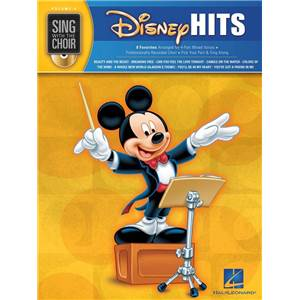 DISNEY - SING WITH THE CHOIR VOL.08 DISNEY HITS + CD