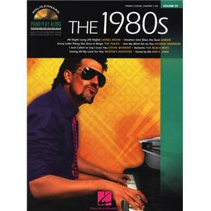 COMPILATION - PIANO PLAY ALONG VOL.059 THE 1980S + CD