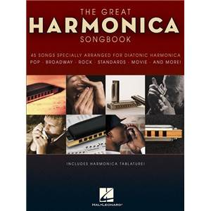 COMPILATION - GREAT HARMONICA SONGBOOK 45 SONGS
