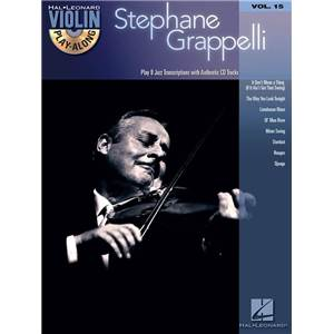 GRAPPELLI STEPHANE - VIOLIN PLAY ALONG VOL.015 + CD