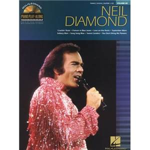 DIAMOND NEIL - PIANO PLAY ALONG VOL.088 + CD