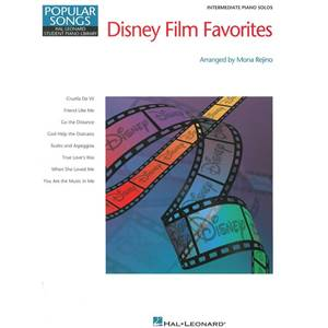 DISNEY - HAL LEONARD STUDENT PIANO LIBRARY DISNEY FILM FAVOURITES