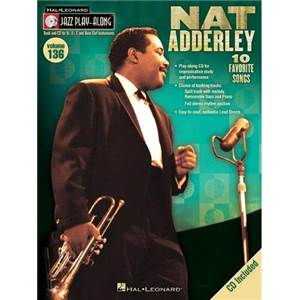 ADDERLEY NAT - JAZZ PLAY ALONG VOL.136 + CD