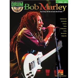 MARLEY BOB - DRUM PLAY ALONG VOL.25 + CD