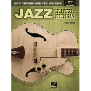 JOHNSON CHAD - JAZZ GUITAR CHORDS + DVD