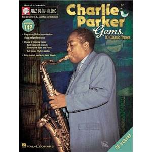 PARKER CHARLIE - JAZZ PLAY ALONG VOL.142 GEMS + CD