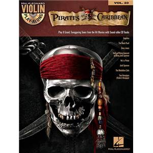 DISNEY - VIOLIN PLAY ALONG VOL.023 PIRATES OF THE CARIBBEAN + CD