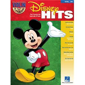 DISNEY - VIOLIN PLAY ALONG VOL.030 DISNEY HITS + CD
