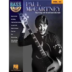 MCCARTNEY PAUL - BASS PLAY-ALONG VOL.43 + CD