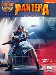 PANTERA - GUITAR PLAY ALONG VOL.163 + ONLINE AUDIO ACCESS - GUITARE