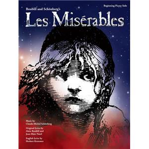 BOUBLIL / SCHONBERG - LES MISERABLES BEGINNING PIANO SOLOS 2012 REVISED EDITION