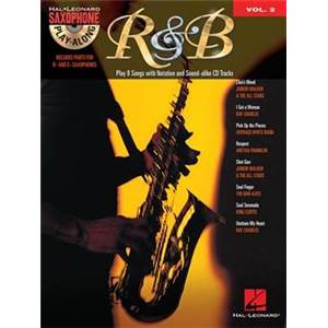 COMPILATION - SAXOPHONE PLAY ALONG VOL.2 R&B + CD