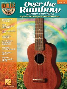 COMPILATION - UKULELE PLAY-ALONG VOLUME 29 OVER THE RAINBOW AND OTHER FAVORITES + CD