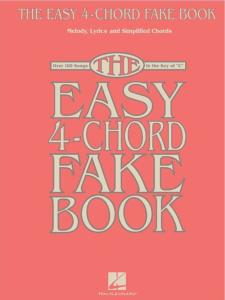 COMPILATION - THE EASY 4-CHORD FAKE BOOK IN C