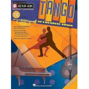COMPILATION - JAZZ PLAY ALONG VOL.175 TANGO + CD