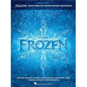 COMPILATION - FROZEN (REINE DES NEIGE) MUSIC FROM THE DISNEY MOTION PICTURE SOUNDTRACK EASY PIANO