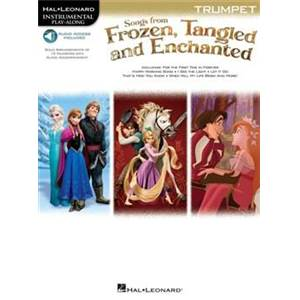 COMPILATION - INSTRUMENTAL PLAY ALONG FROZEN TANGLED TROMPETTE + CD