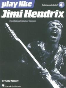 HENDRIX JIMI - PLAY LIKE + AUDIO ACCESS ONLINE