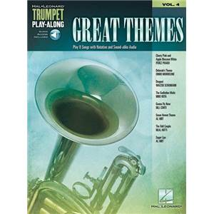 COMPILATION - TRUMPET PLAY-ALONG VOL.04 GREAT THEMES + AUDIO ACCESS