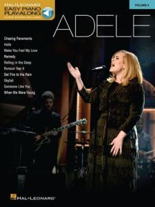 ADELE - EASY PIANO CD PLAY-ALONG VOL.04 ADELE + ONLINE AUDIO ACCESS