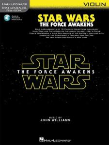 COMPILATION - INSTRUMENTAL PLAY-ALONG: STAR WARS THE FORCE AWAKENS VIOLIN  + ONLINE AUDIO ACCES