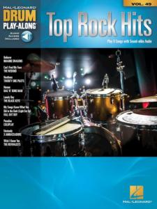 COMPILATION - DRUM PLAY-ALONG VOL.49 TOP ROCK HITS + ONLINE AUDIO ACCESS