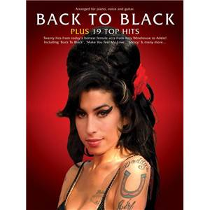 COMPILATION - BACK TO BLACK PLUS 19 TOP HITS P/V/G