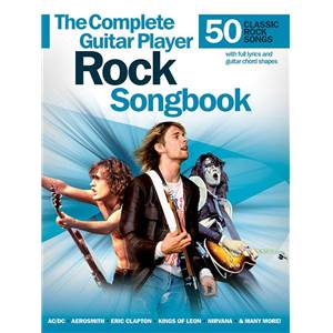 COMPILATION - THE COMPLETE GUITAR PLAYER 50 ROCK SONGBOOK M/L/C