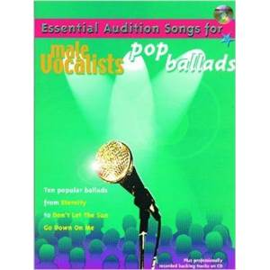 COMPILATION - MALE VOCALISTS POP BALLADS P/V/G + CD