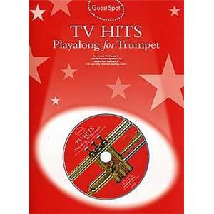 COMPILATION - GUEST SPOT TV HITS PLAY ALONG FOR TRUMPET + CD