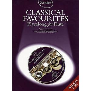 COMPILATION - GUEST SPOT FLUTE CLASSICAL FAVORITES + 2CD