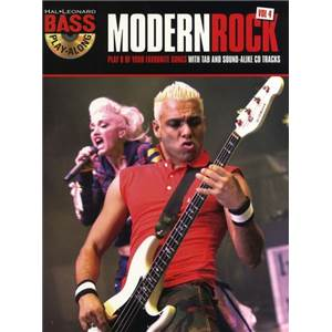 COMPILATION - BASS PLAY-ALONG VOL.04 MODERN ROCK OF THE 90S + CD