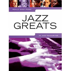COMPILATION - REALLY EASY PIANO JAZZ GREATS