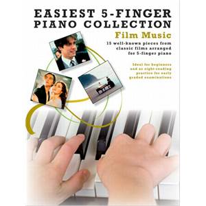COMPILATION - EASIEST 5 FINGER PIANO COLLECTION : FILM MUSIC