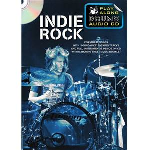 COMPILATION - INDIE ROCK PLAY ALONG DRUMS (FORMAT DVD) + CD