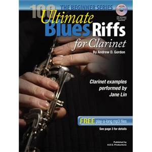 GORDON ANDREW D. - 100 ULTIMATE BLUES RIFF FOR CLARINET + CD