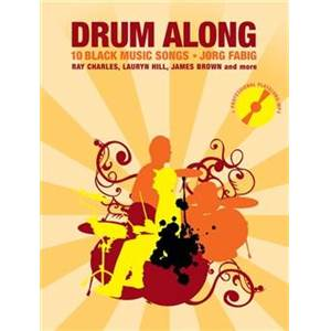 COMPILATION - DRUM ALONG 10 BLACK MUSIC SONGS + CD
