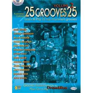 CUFFARI FLAVIANO - 25 GROOVES FOR DRUMMERS VOL.2 + CD