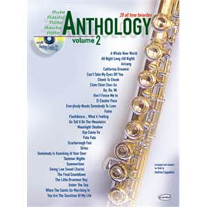 COMPILATION - ANTHOLOGY FLUTE VOL.2 28 ALL TIME FAVORITES + CD