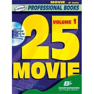 COMPILATION - 25 MOVIE FOR BB INSTRUMENTS VOL.1 + CD