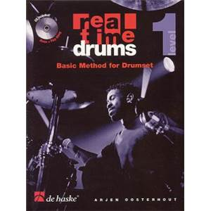 OOSTERHOUT ARJEN - REAL TIME DRUMS IN MORE SONGS VOL.1 + CD