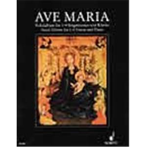 COMPILATION - AVE MARIA SELECTION POUR SATB / PIANO