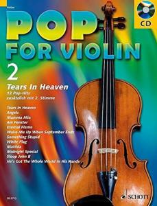 POP FOR VIOLIN VOLUME 2 +CD  - VIOLONS (1-2)