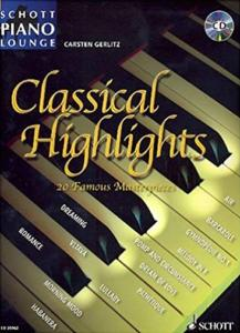 CLASSICAL HIGHLIGHTS (ARRANGEMENTS DE GERLITZ CARSTEN) +CD - PIANO