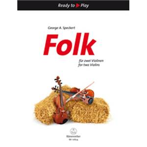 FOLK FOR TWO - VIOLONS (2)