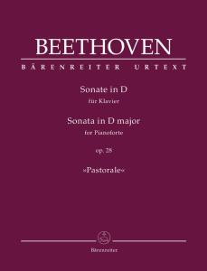BEETHOVEN - SONATE OP.28 EN RE MAJ. DITE PASTORALE - PIANO