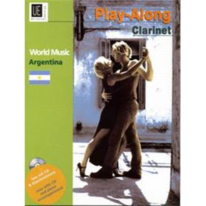 COMPILATION - WORLD MUSIC ARGENTINA (ARGENTINE) CLARINETTE/PIANO + CD