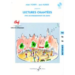VOIRPY A/HURIER J - LECTURES CHANTEES 1ER CYCLE+ CD